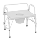 Equipment & Furnishings Bathroom Safety Commodes - M500 - Bariatric Commode M500 M500