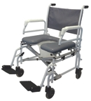 Equipment & Furnishings Bathroom Safety Commode Shower Chairs - S950 - Bariatric Commode Shower Chairs S950 S950