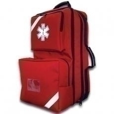 Or & Surgery Wound Care First Aid Kits - 911-84550rd - O2 / Trauma / Aed Backpack (red) 911-84550RD