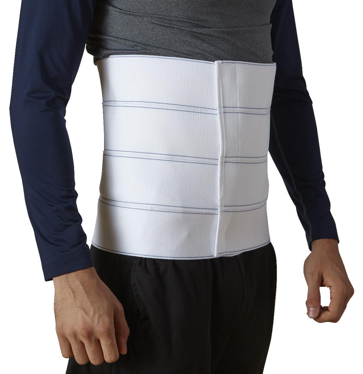 Abdominal Binder 12in 4-panel Std 4xl - Ort213004xl - Patient Therapy Rehabilitation Orthopedic Soft Goods Binders Ribs Belts ORT213004XL