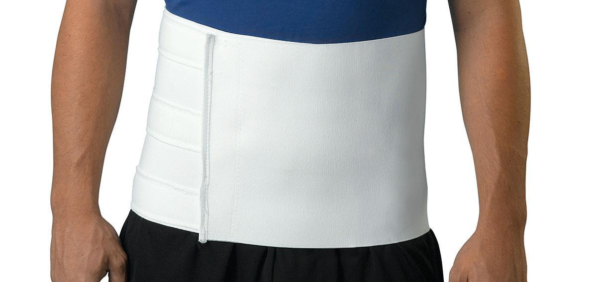 Binder Abdominal 9h 27-48 Ea - Ort21100 - Patient Therapy Rehabilitation Orthopedic Soft Goods Binders Ribs Belts ORT21100