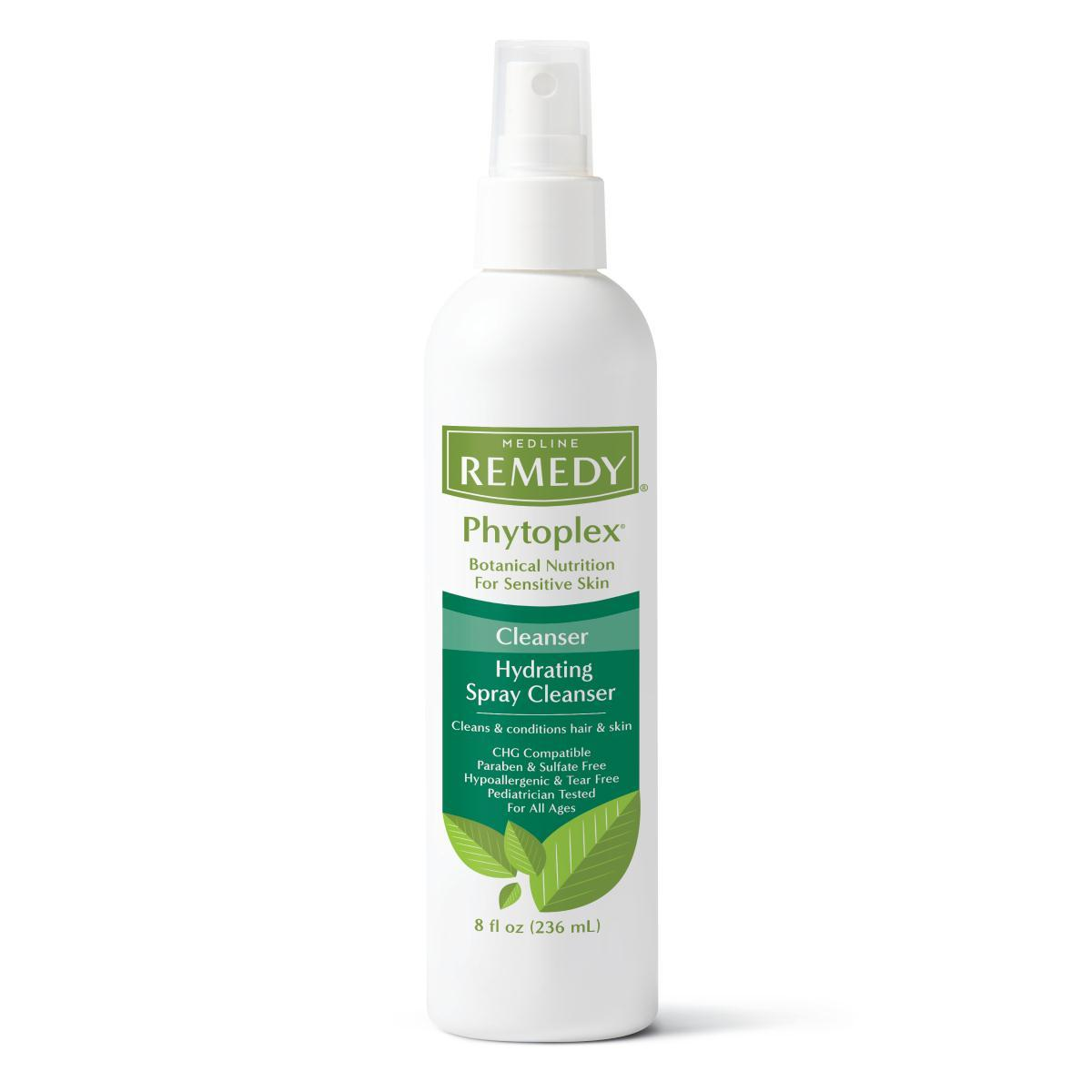 Nursing Supplies & Patient Care Skin Care Cleansers Foams & Lotions - Msc092208 - Cleanser Spray No Rinse Remedy Phyto 8oz MSC092208