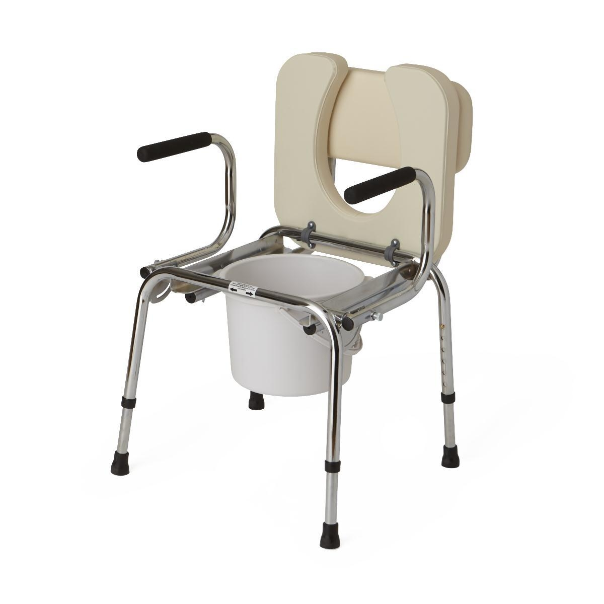 Equipment & Furnishings Bathroom Safety Commodes - G98204 - Commode Drop Arm Padded G98204