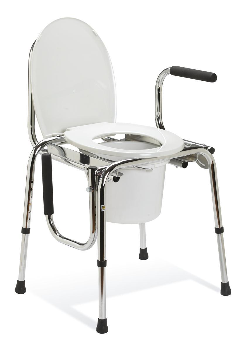 Equipment & Furnishings Bathroom Safety Commodes - G98202 - Commode Drop Arm Plain G98202