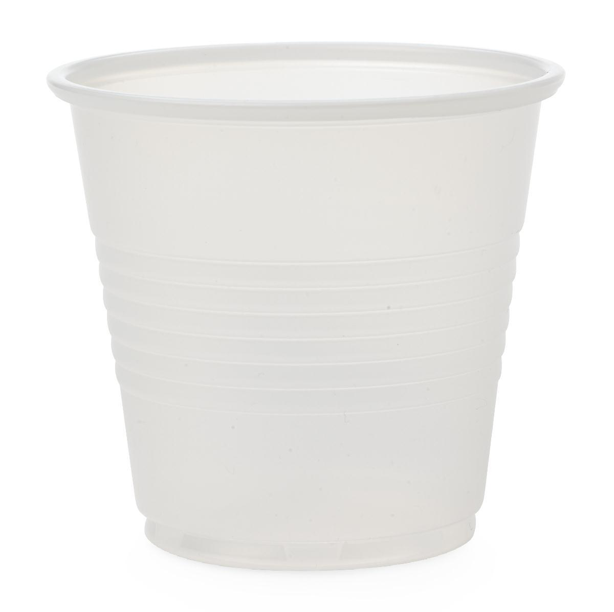 Cup Plastic 3.5 Oz Translucent - Non030035 - Food Service Drinking Cups Glasses NON030035