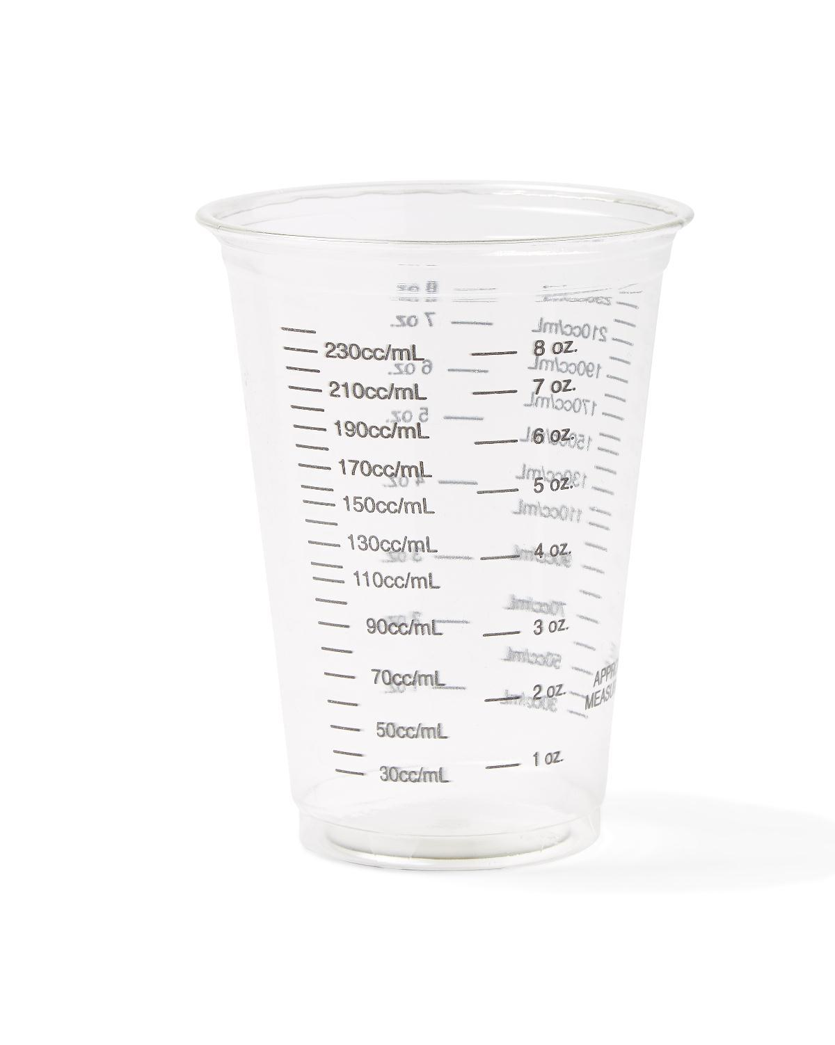 Cup Plastic Graduated 10 Ounce - Non03010bar - Food Service Drinking Cups Glasses NON03010BAR