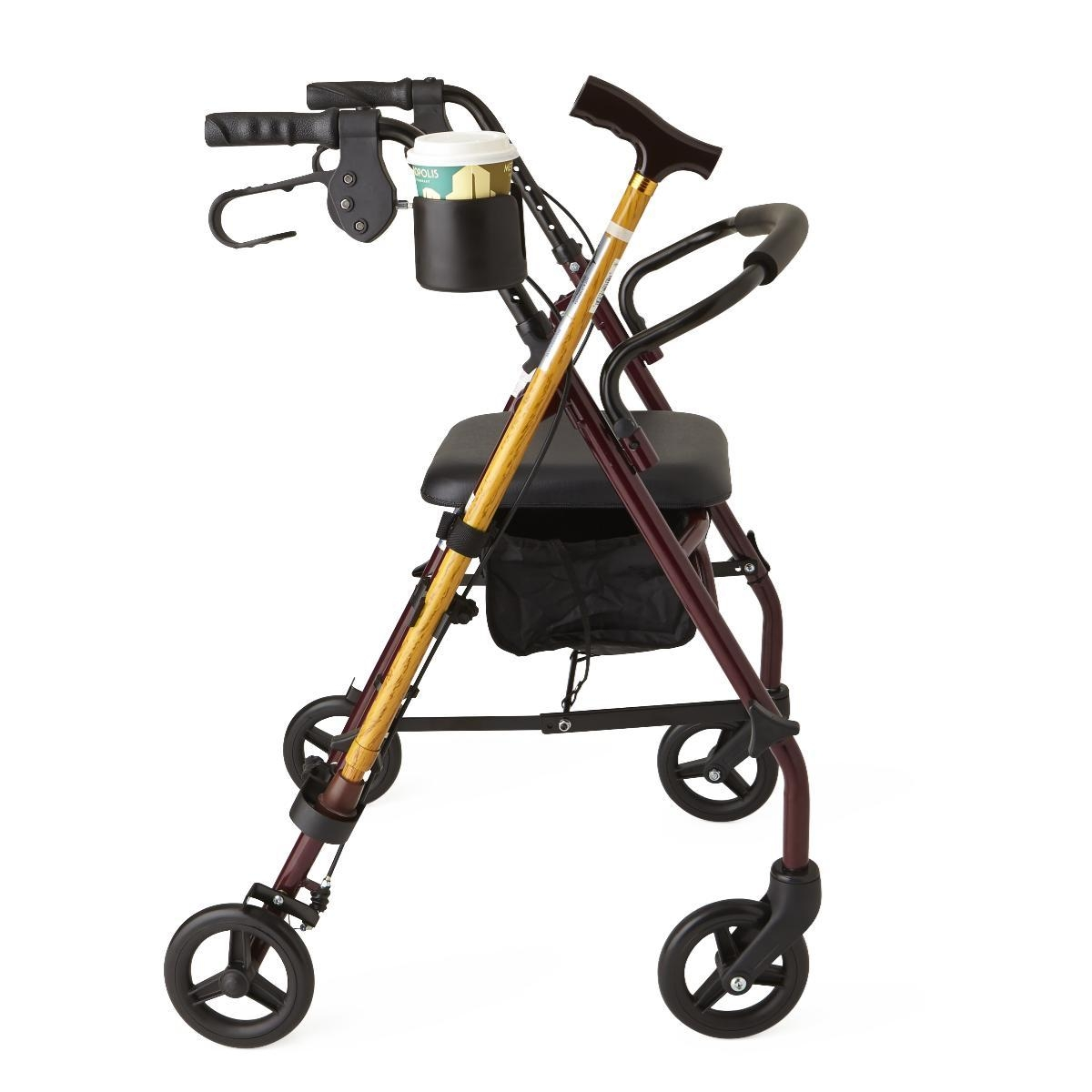 Therapy & Fitness Mobility Aids Walkers Walkers - Mdscupcanehw - Holder Cup And Cane Combo Pack MDSCUPCANEHW